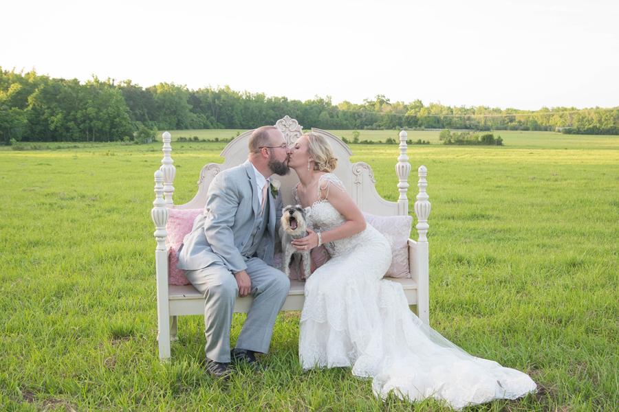 Cleveland, Texas Backyard Wedding | Katie + Joe