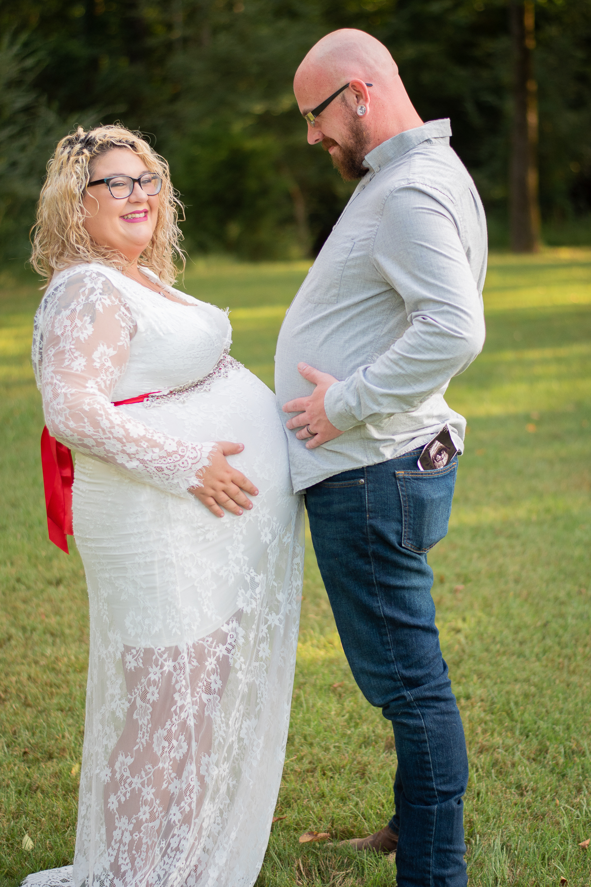 Maternity Photo Session, Spring Creek Park – Tomball, Tx | Rachel + Chad