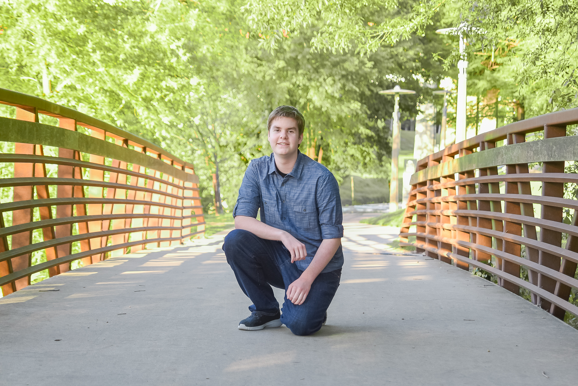 Houston Senior Photographer | Buffalo Bayou Park | Landon
